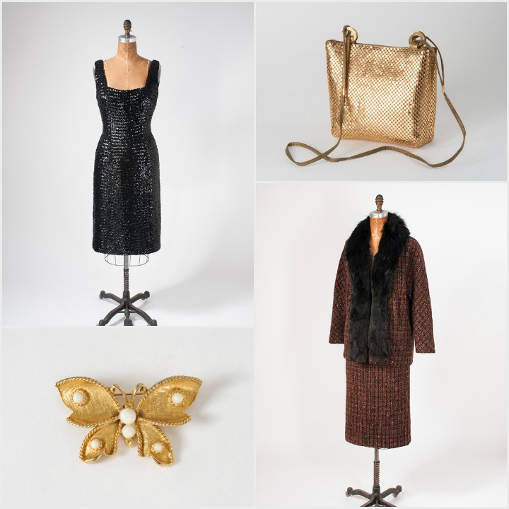 a sampling of vintage items from Miss Farfalla