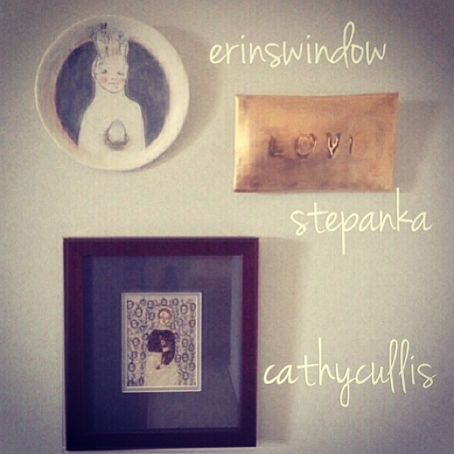 Maria's finds: erins window, stepanka, cathy cullis