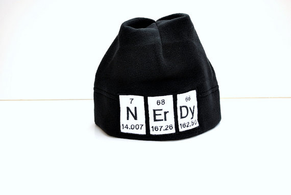nerdy hat by yellow bug boutique