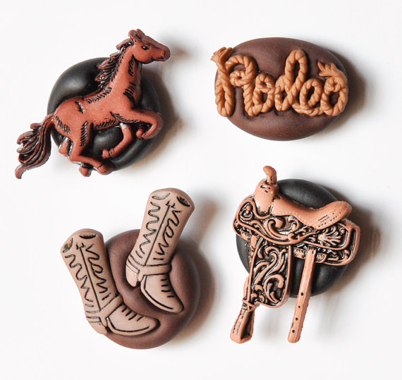 polymer clay magnets handmade by crea shines