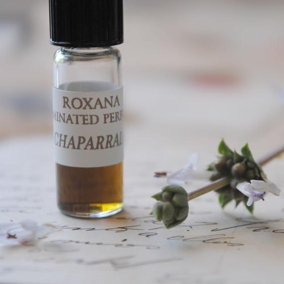 chaparral- a wild west natural botanical perfume by Illuminated Perfume