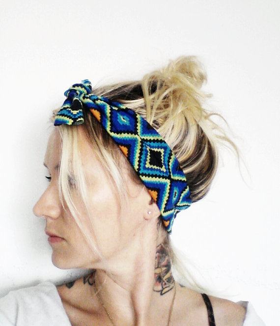 top knot headband  by seven white rabbits