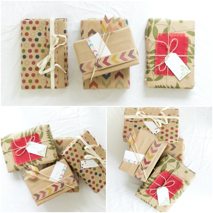 Your finished product. Now you are an official expert gift wrapper. Show them off!