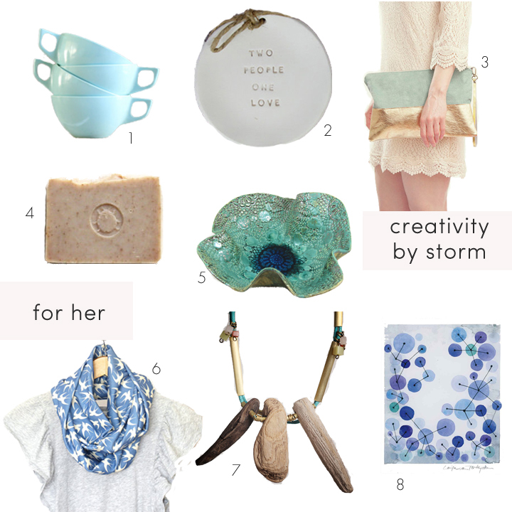 collections:  for her  and  creativity by storm