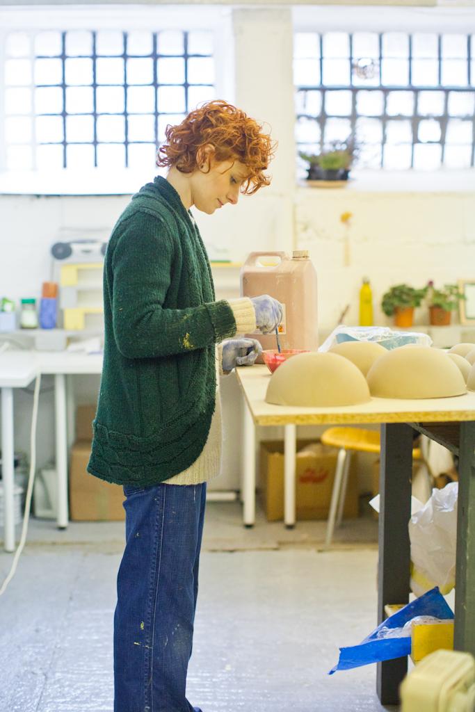 Karo in her studio.
