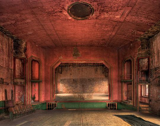 The Opera House stage. Photography by Walt Jakubowski.