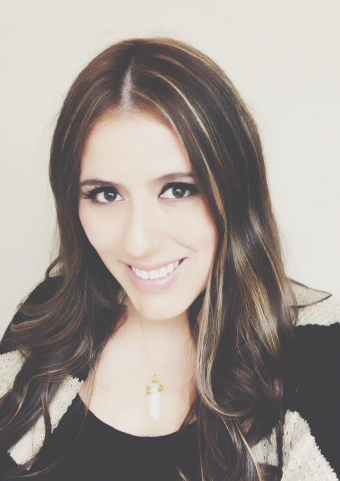 Adriana, the creative mind behind, Gossamer & Violet.
