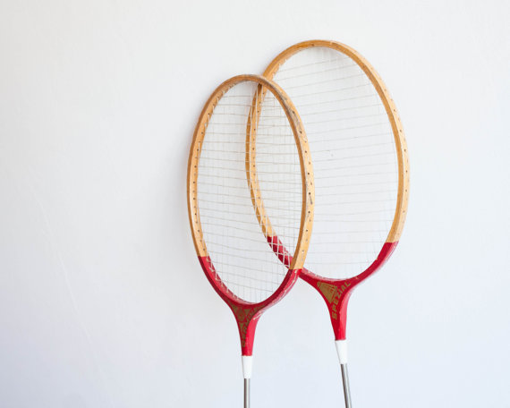 vintage badminton rackets :: the things that were