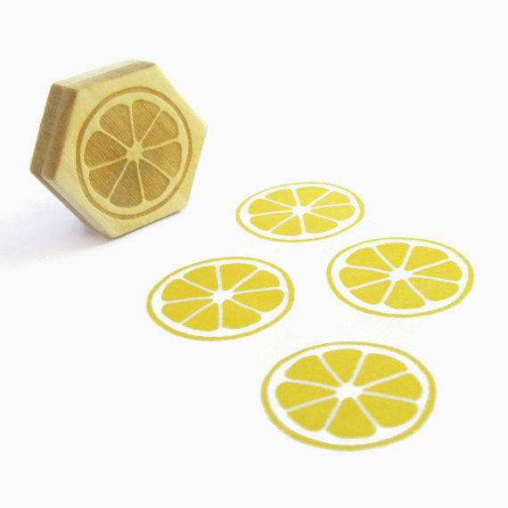 lemon stamp :: creatiate