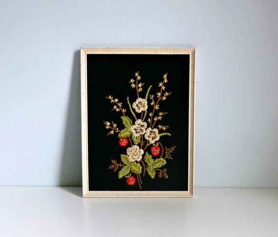 vintage embroidery  art  :: Mungo and Midge