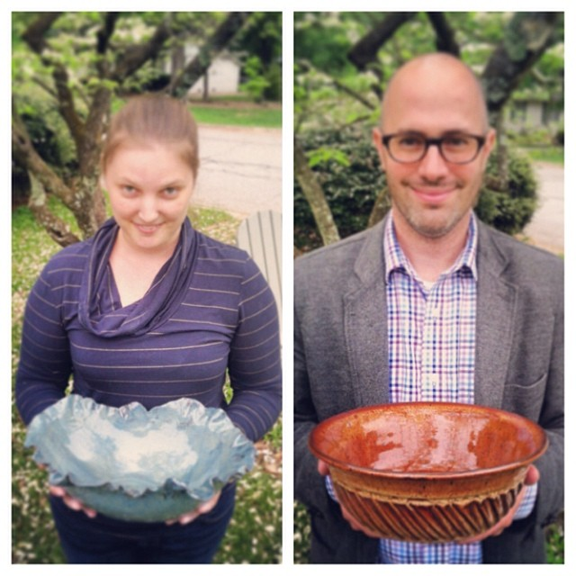 Meet Tiffany and Scott. The dynamic ceramic duo behind Kirkwood Clay Pottery.