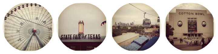 my instagram photo's from the 2012 State Fair of Texas