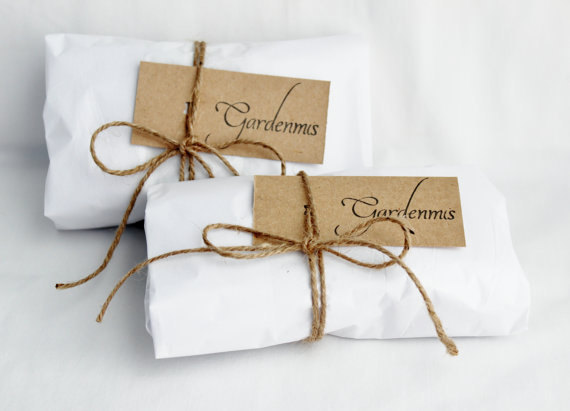 sachet's handmade and beautifully wrapped by Priscilla of Gardenmis