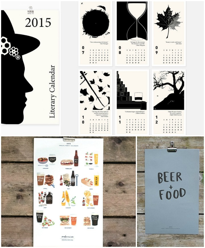 Literature and Food Calendars  ::   Literary Calendar  :; Obvious State &  Beer + Food  :: red cruiser