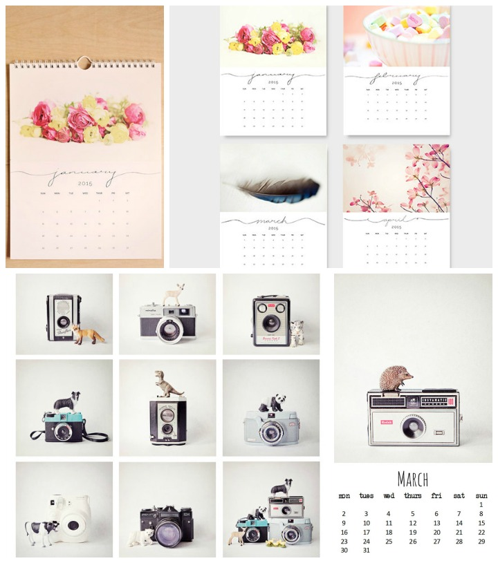 Photography Calendars  ::  pretty things  :: semi sweet studios &  the little ones  :: susannah tucker
