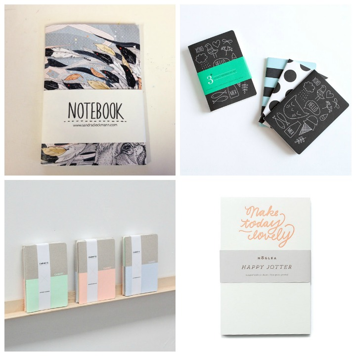 notebook  :: magic breeze :: sandra dieckmann   notebook  :: stockholm :: pei design   notebook   :: pastels :: antonin + margaux    notebook  :: make today lovely :: moglea