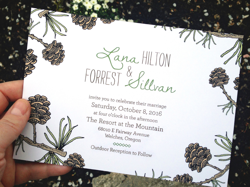 more wedding invitations and designs