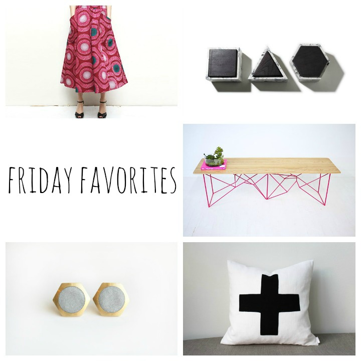 skirt  :: aluma handmade    concrete boxes  :: insek design    bench  ::  modern creative   earrings  :: vivid by esther    pillow  :: bo helina