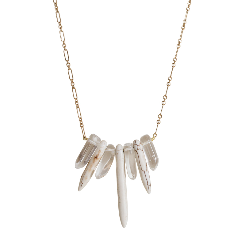 Howlite+&+Polished+Crystal+Quartz+Necklace.jpg