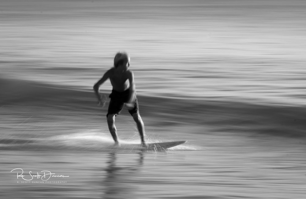 Panning Photography - 1/13 Second