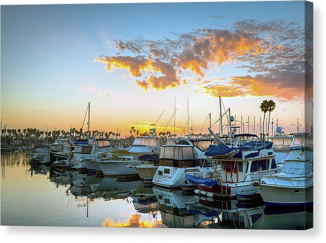 Alamitos Bay California Canvas Print