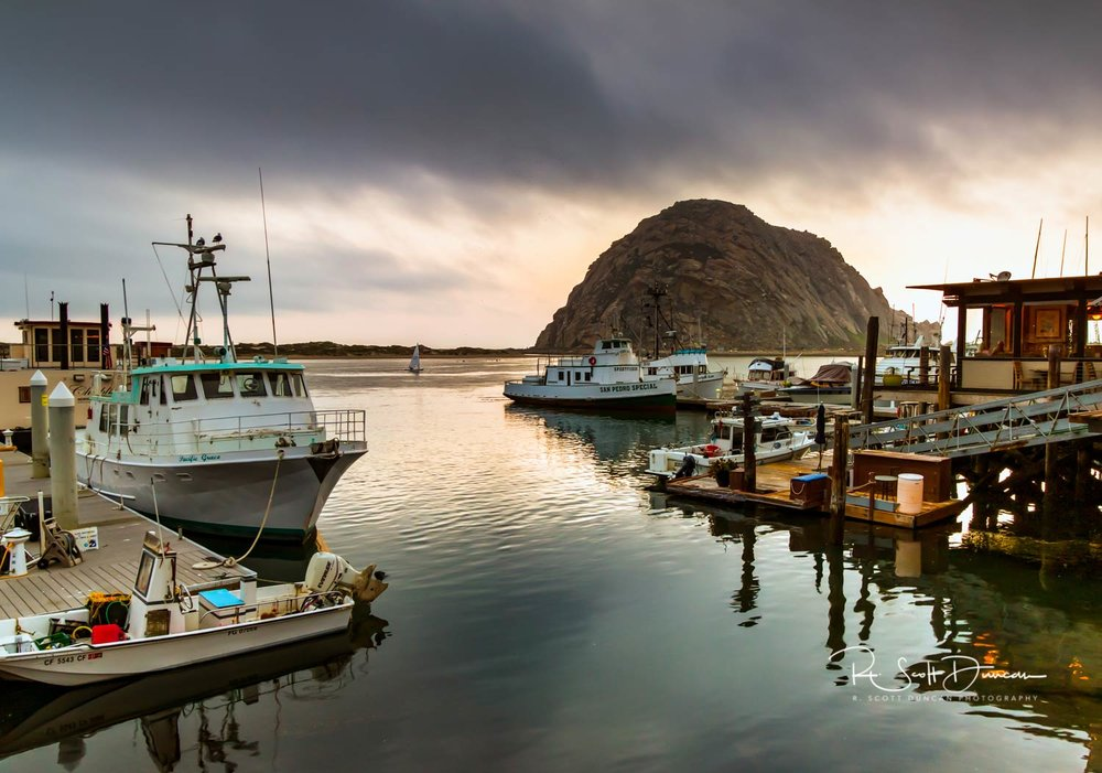 Morro Rock - Morro Bay, California