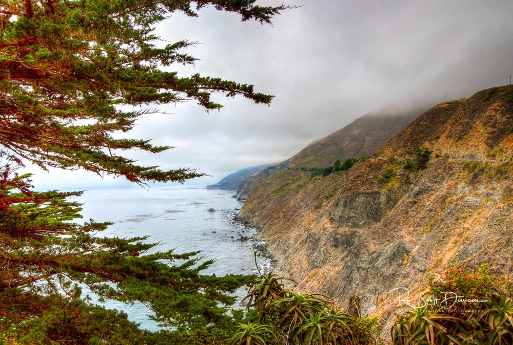 Ragged Point - Big Sur, California