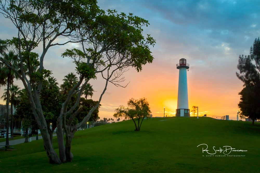 Rainbow Lighthouse - Long Beach, California