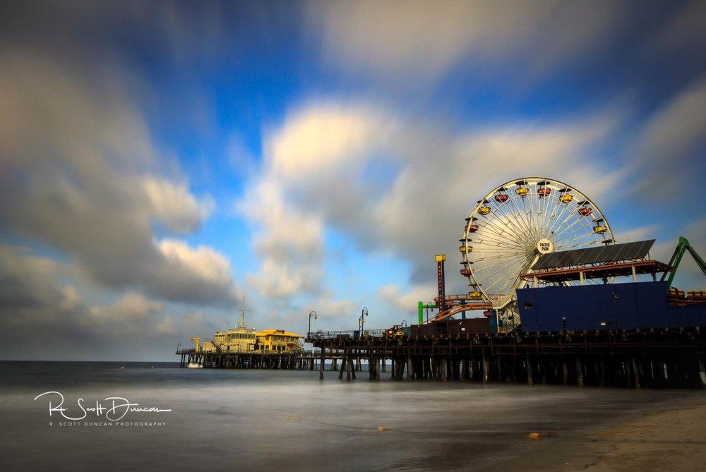 Santa Monica Pier - Santa Monica, California