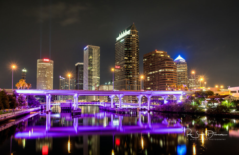 Downtown Nights - Tampa, Florida