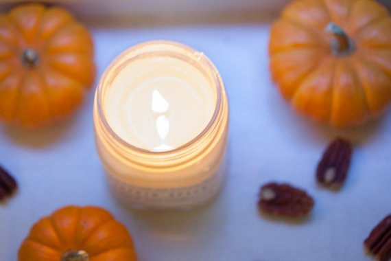 Pumpkin Chai candles!