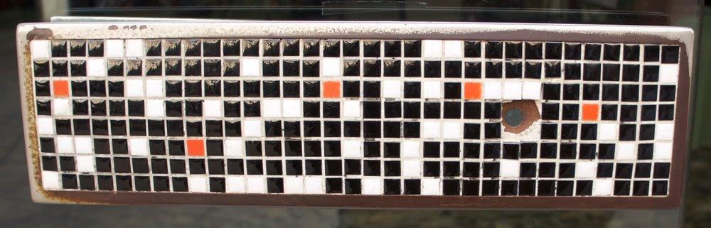 Barcelona cafe door handle