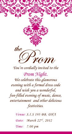 Frootfull design prom invitation stopboris Image collections