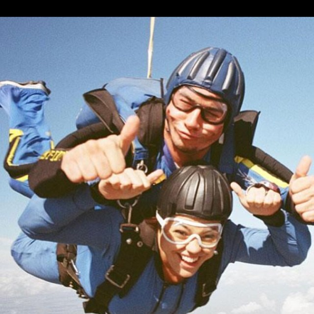 #TBT jumping off a plane at 14,000 ft = #pricelessmoments #parentswerefreakingout #iwanttodoitagain #gpexclusives