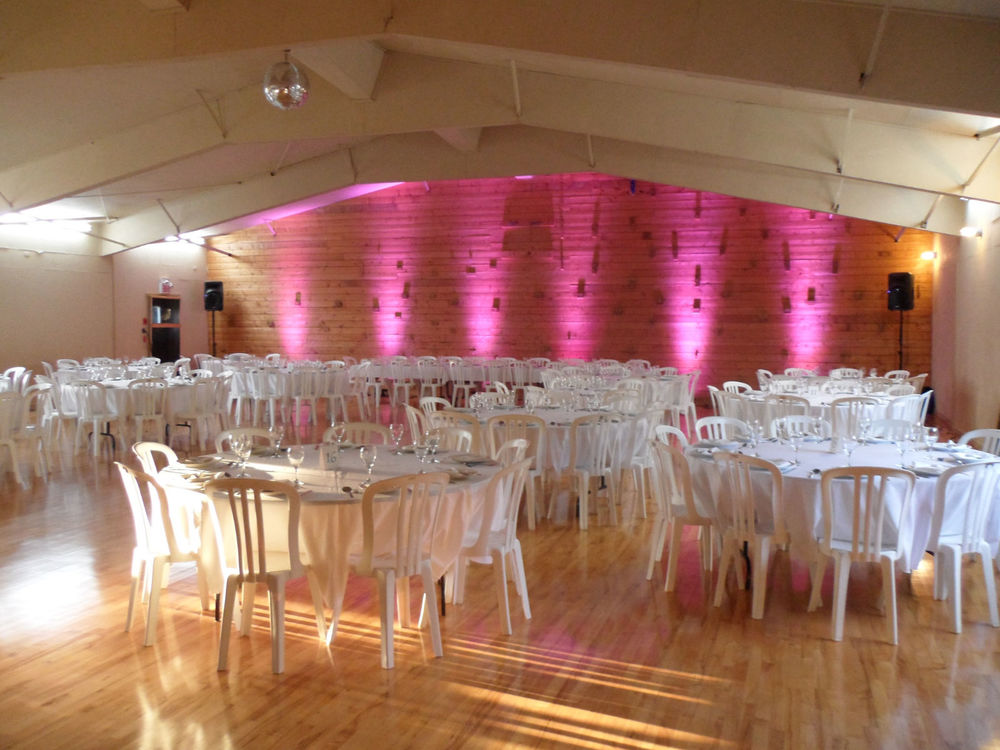 wedding in gym red lighting.JPG