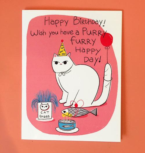Birthday Card Decue Wu