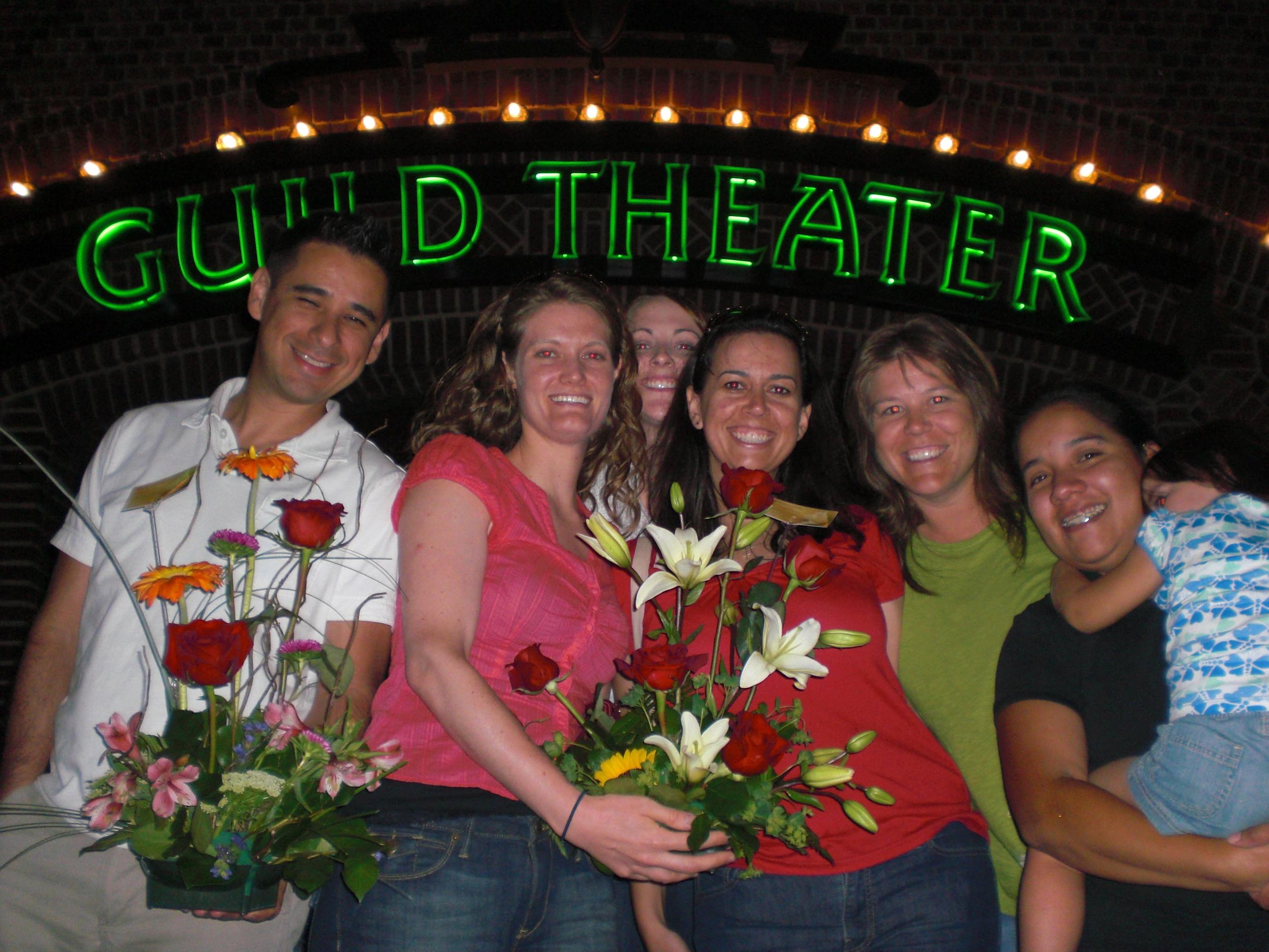 Arnold, Tara, Lisa, Debs, Em and Victoria