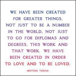 mother teresa Love