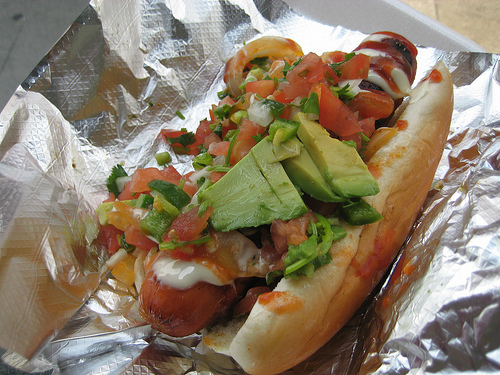 LA style hot dog