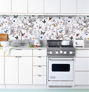 White Butterfly Kitchen