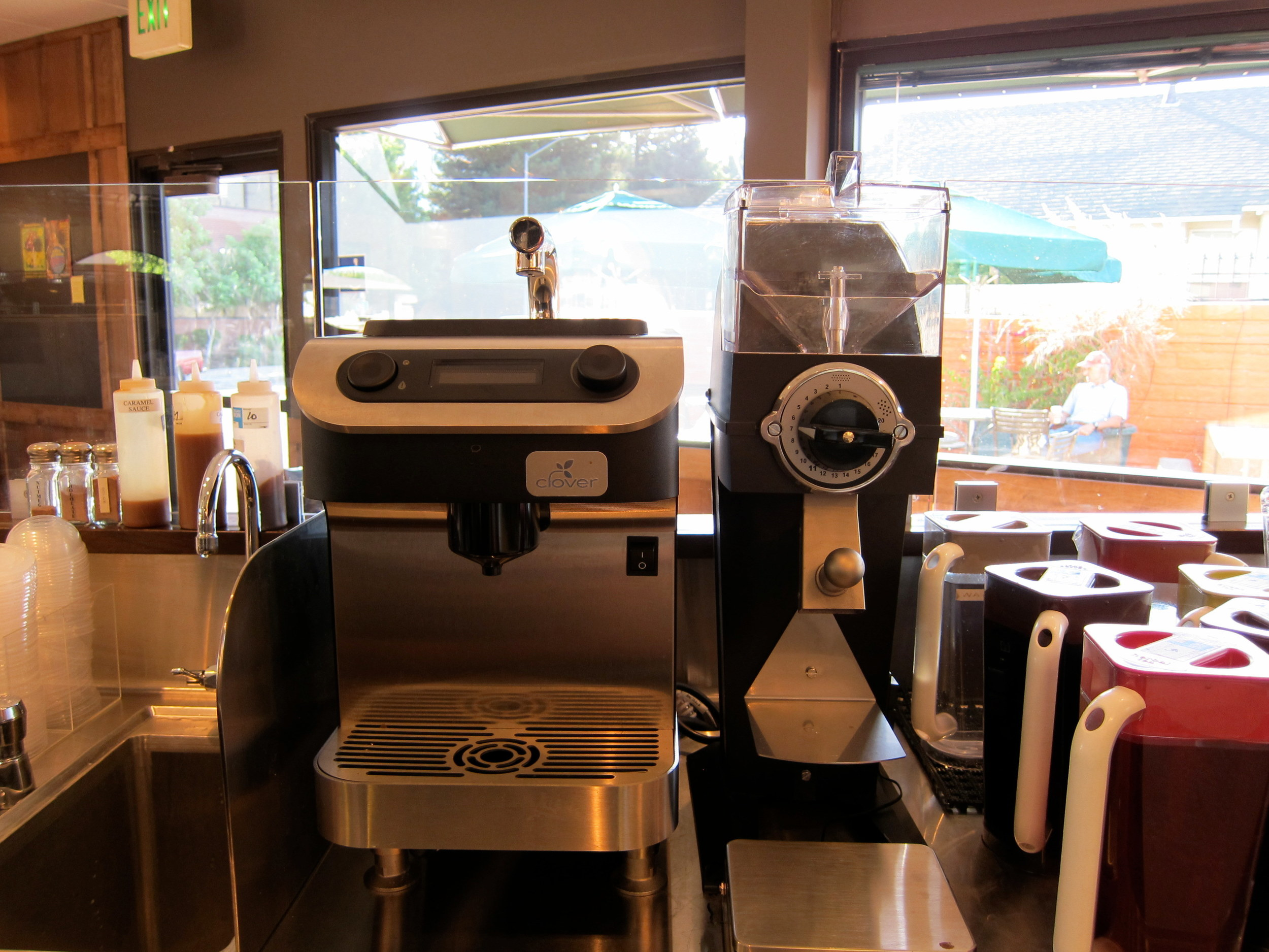 Clover coffee machine