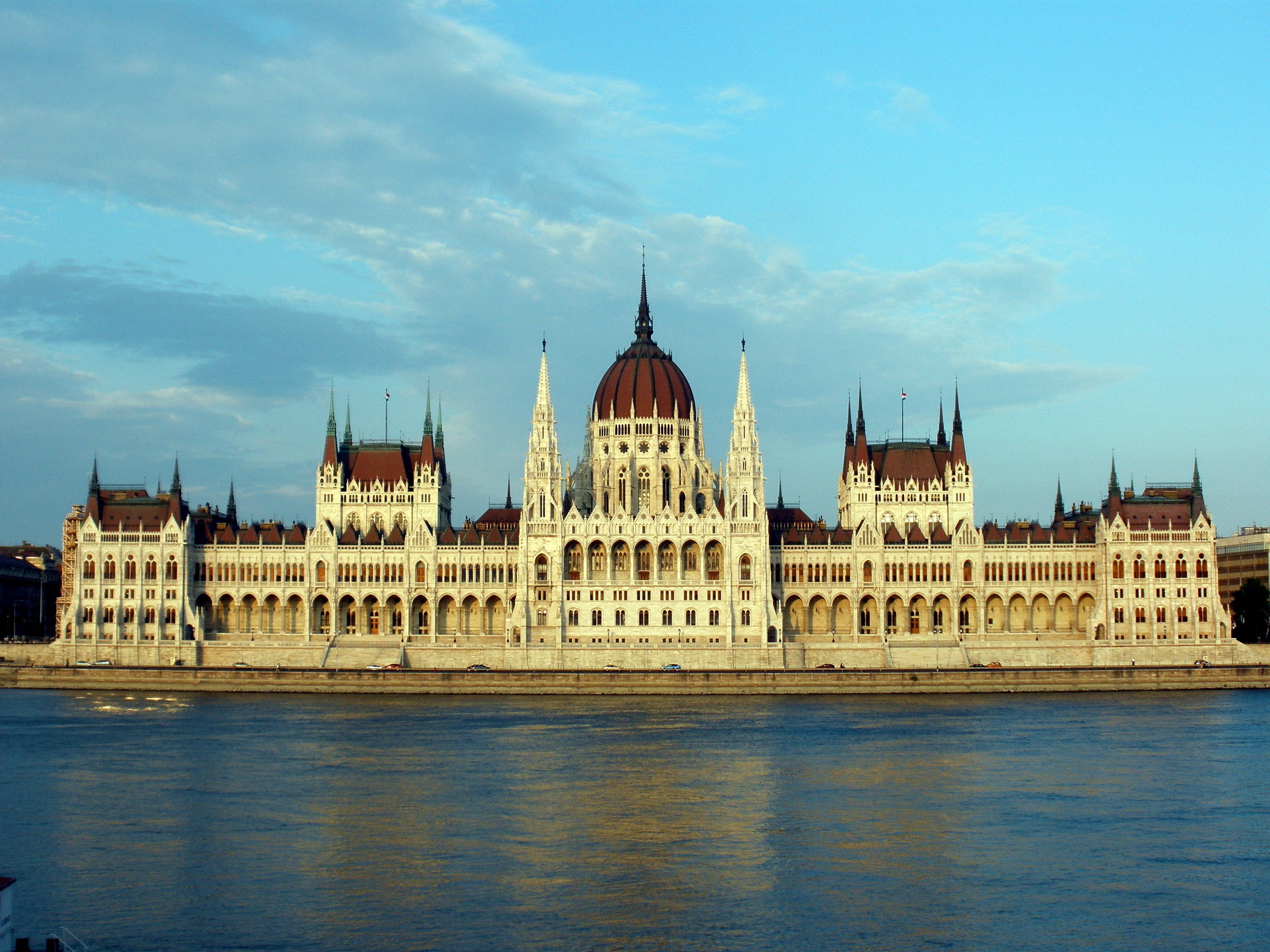 Parliment Building Danube River
