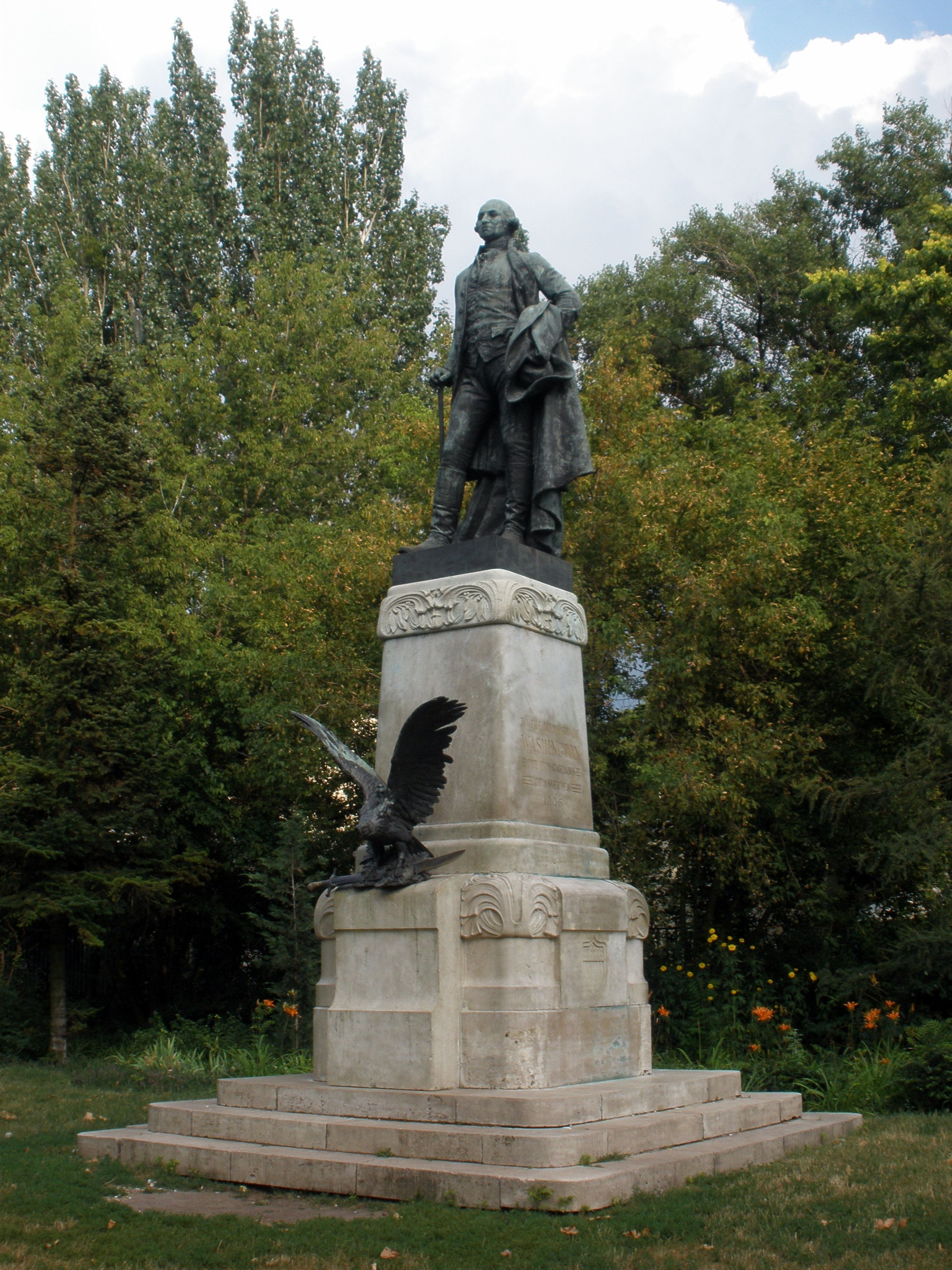 George Washington in Budapest
