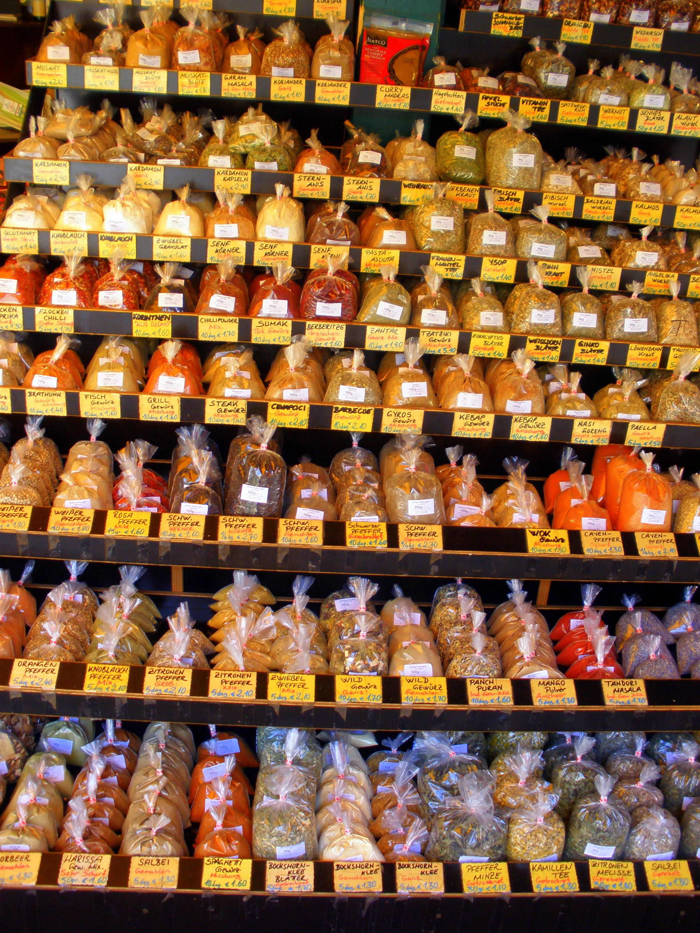 Spices at the Naschmarket