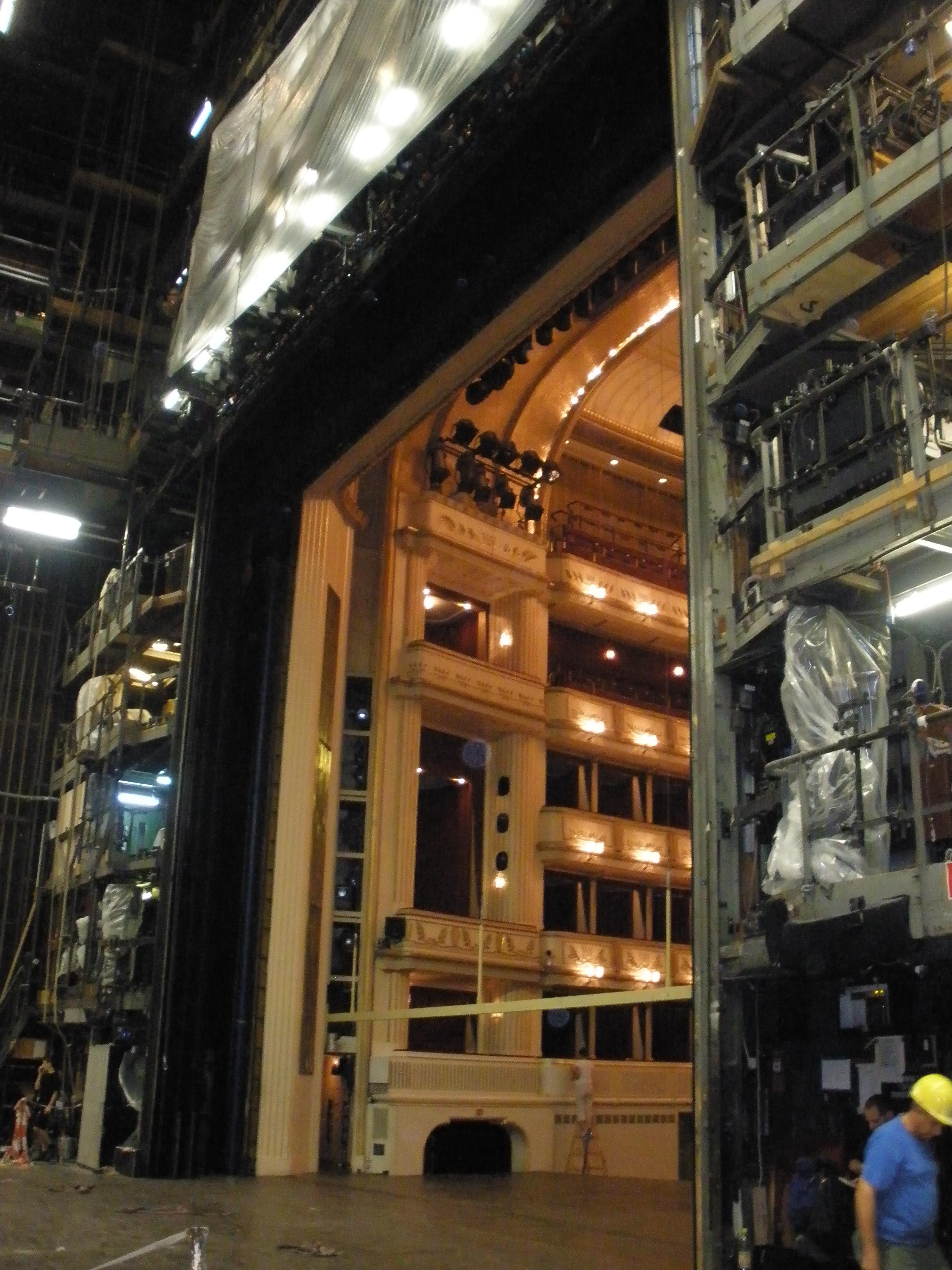 BAckstage Vienna Opera