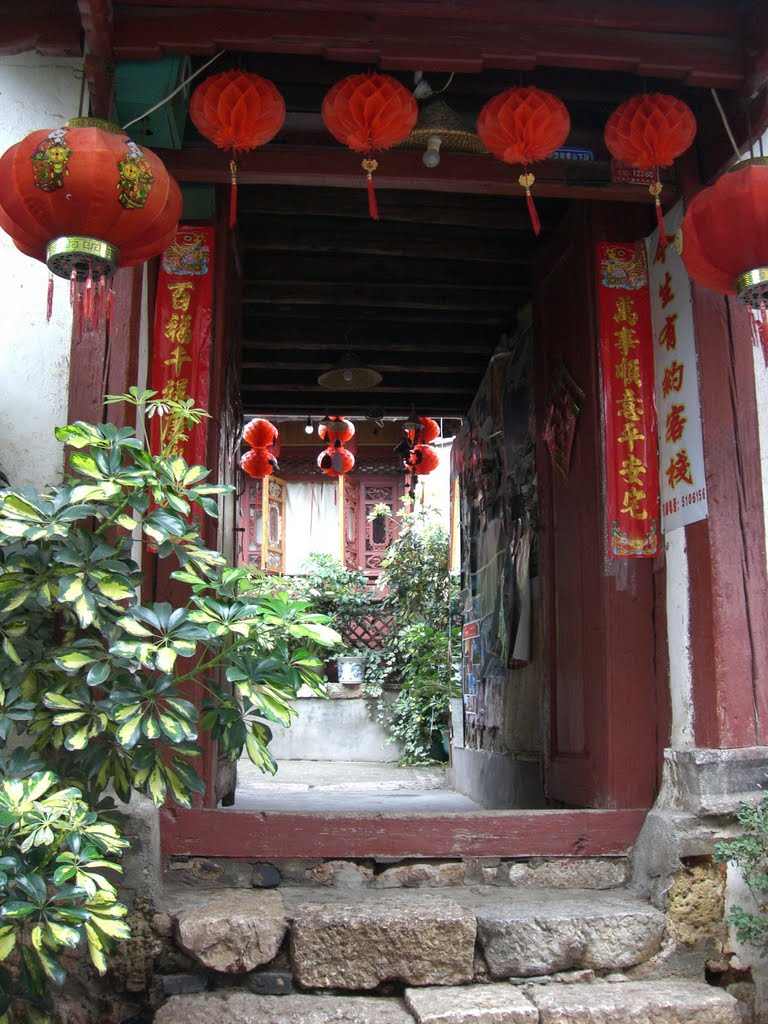 Family courtyards in Lijiang