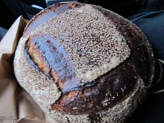Seame Bread at Tartine
