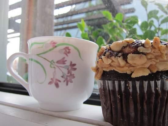 Peanutbutter cupcake from Cako