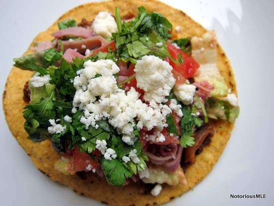 The All-Purpose Quick Tostada
