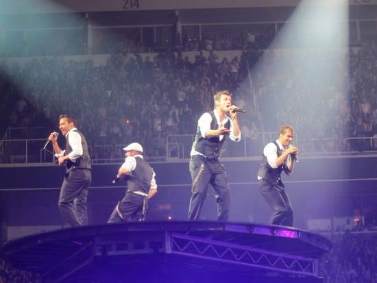 Backstreet Boys concert in San Jose-NKOTBSB